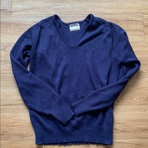 Sears Vintage Made in the USA v-neck sweater